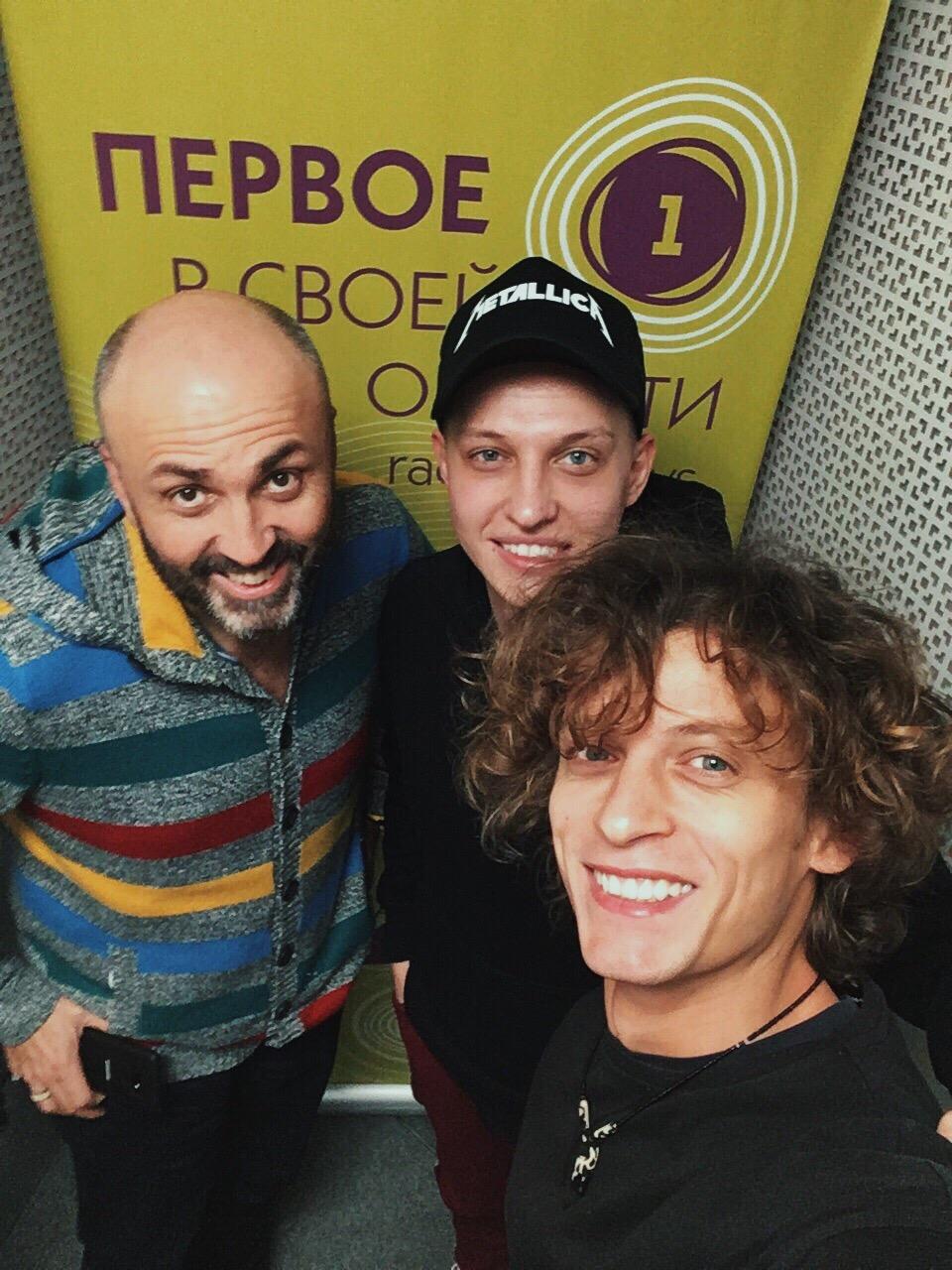 группа ПЯТЕRО на Радио 1
